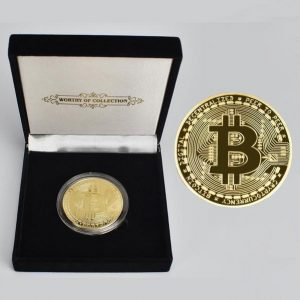 One of our bestselling products, the Luxury Bitcoin Coin Set