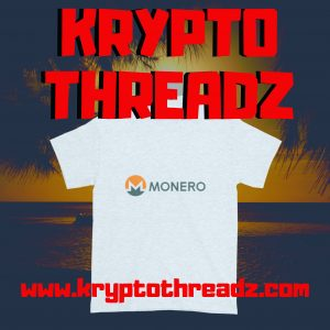 Krypto Threadz Monero TShirt Flyer