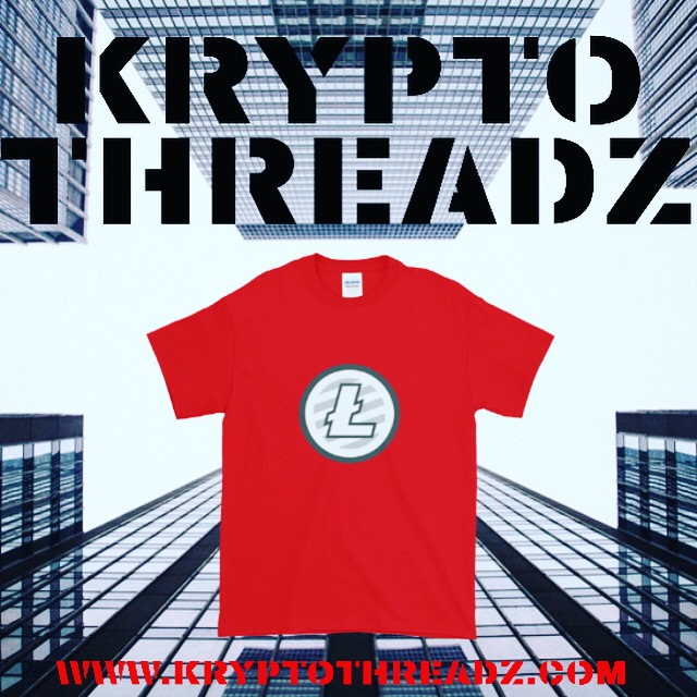 Krypto Threadz Litecoin TShirt Flyer