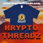 Krypto Threadz Bitcoin TShirt Flyer