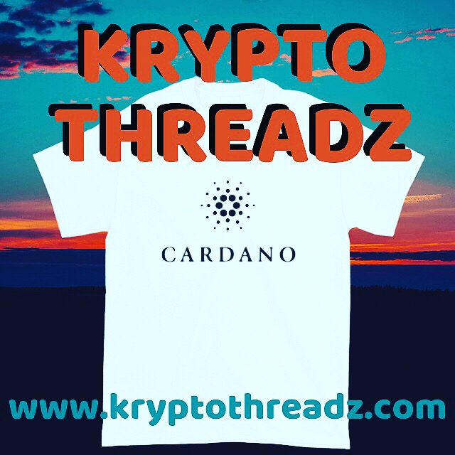 Krypto Threadz Cardano TShirt Flyer