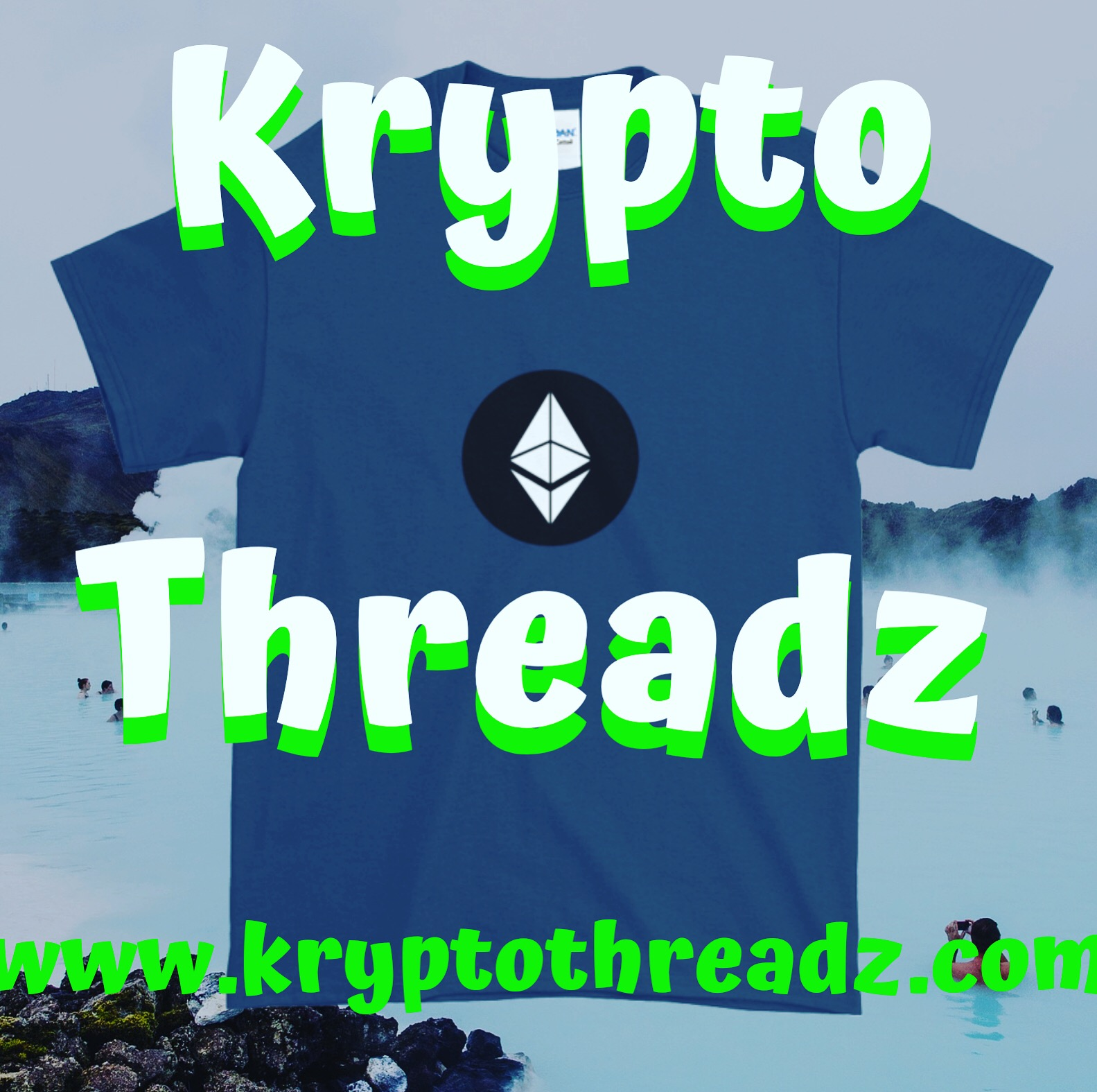 Krypto Threadz Ethereum TShirt Flyer