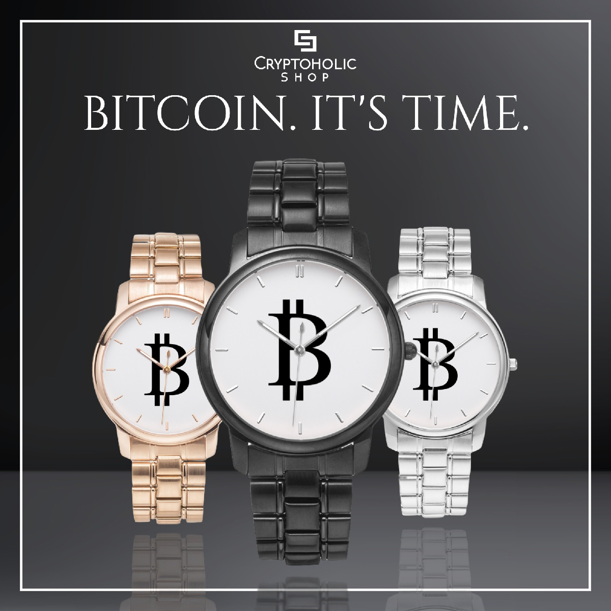 Bitcoin BTC watches and accessories, Bitcoin gear
